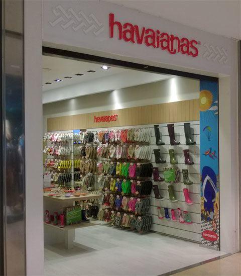 Havaianas winkel Barcelona